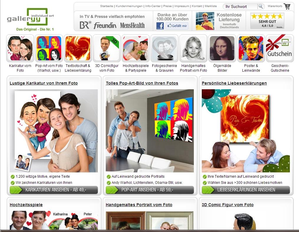 Screenshot Gallery.net