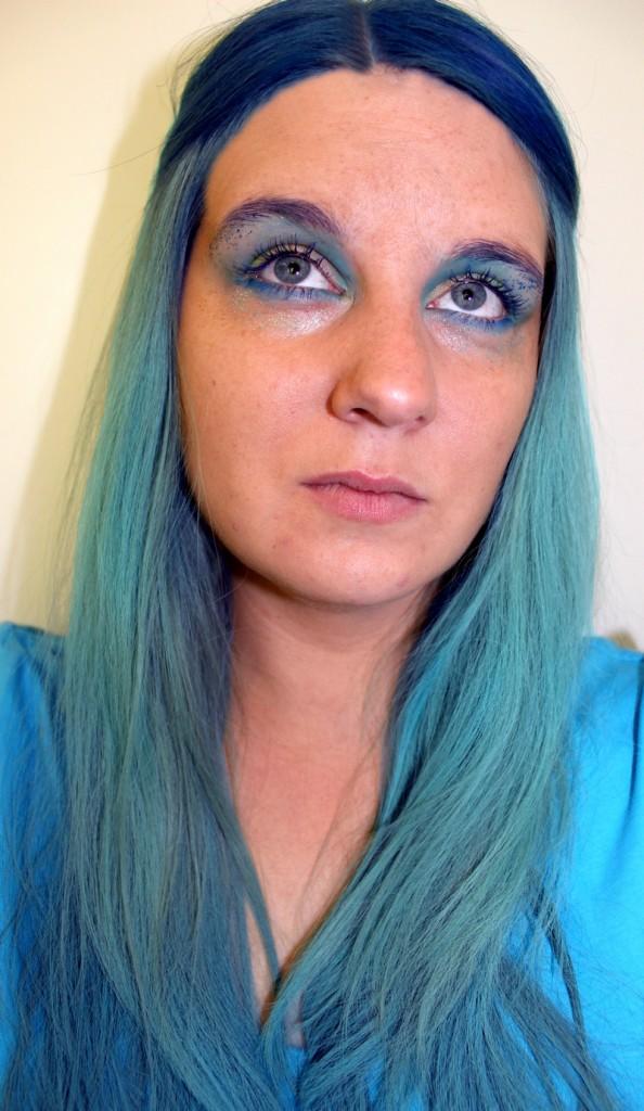 Hair Chalk Mermaid DieCheckerin