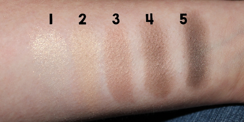 Swatch Smokey eye brown