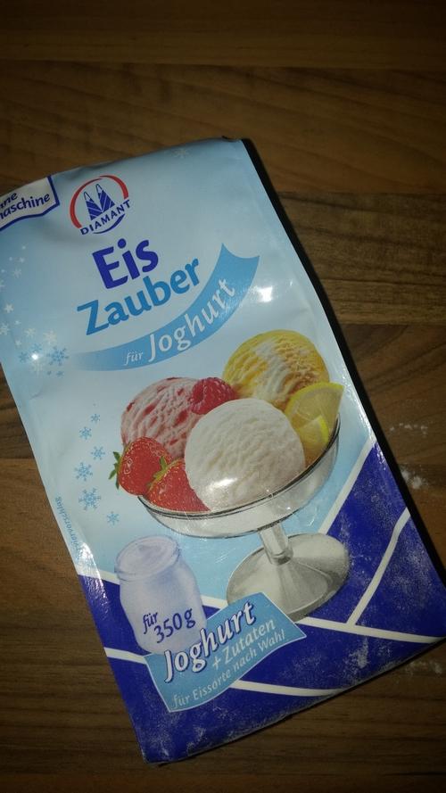 Eiszauber für Joghurt