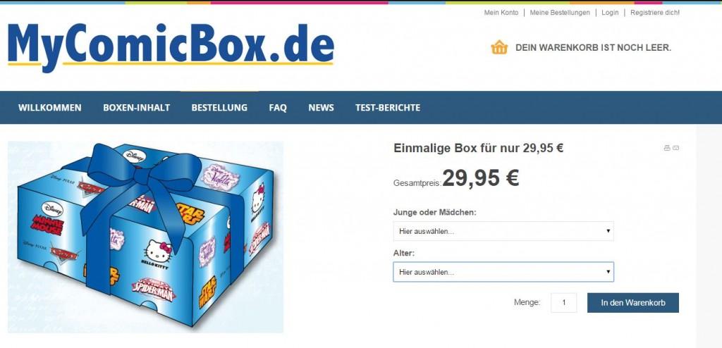 MyComicBox DieCheckerin.de