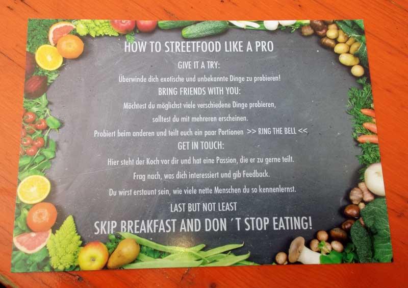 Street-Food-Anleitung