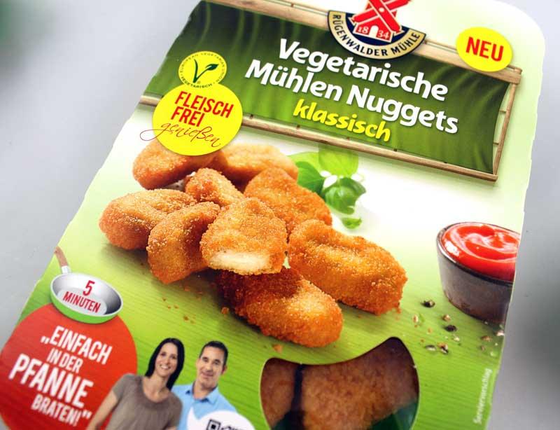 vegetarische-Mühlen-Nuggets