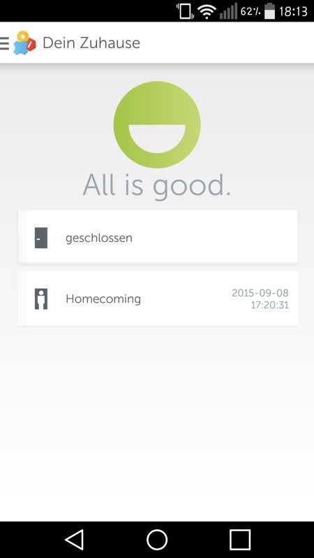 Gigaset-Elements-App-Homescreen