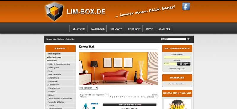 Lim-Box-Kategorien
