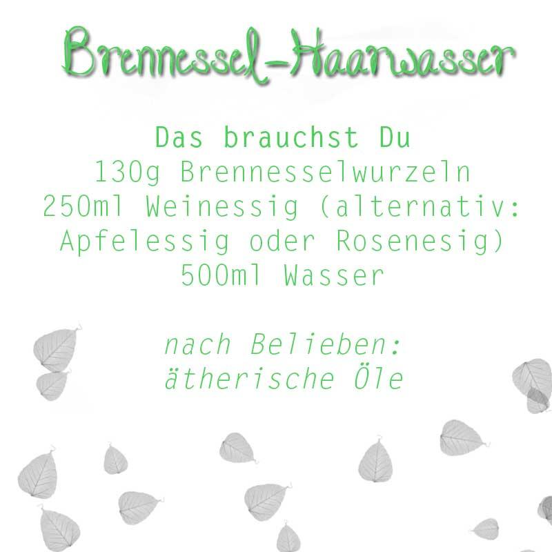 Brennessel-Haarwasser