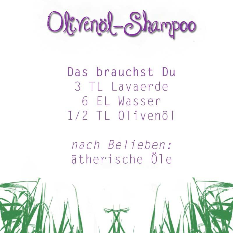Olivenöl-Shampoo