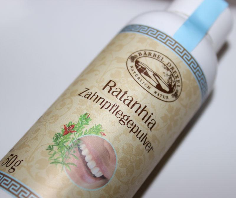 Zahnpflegepulver-Baerbel-Drexel-Ratanhia