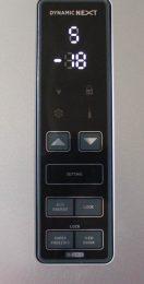 HOOVER-HDCF-184-AD1-Mittelklasse-Kühl-Gefrierkombination-Touch-Panel