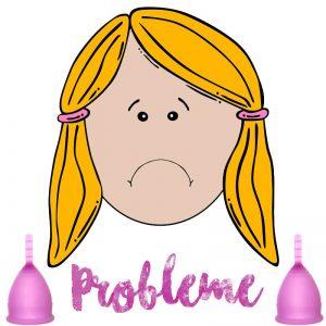 Probleme mit Menstruatuionstassen