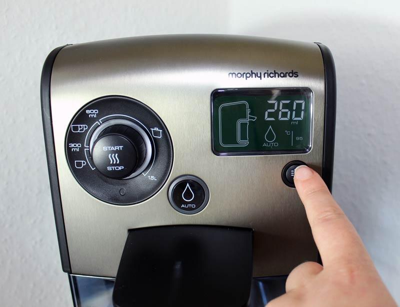 morphy-richards-redefine-heißwasserspender-Temperaturregler