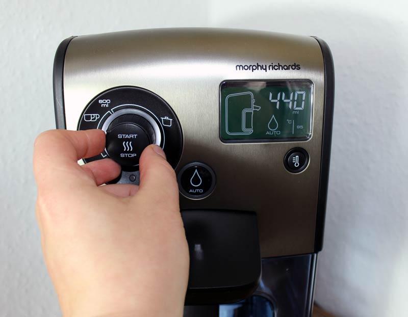 morphy-richards-redefine-heißwasserspender-mengenregler