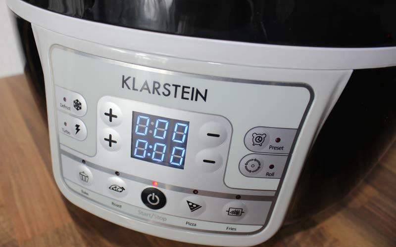 Klarstein-VitAir-Turbo-Bedienfeld