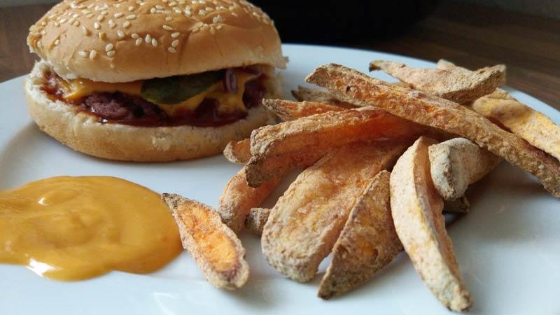 Klarstein-VitAir-Turbo-Süßkartoffelpommes