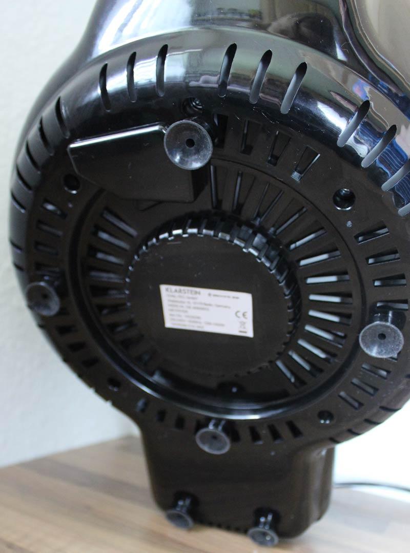 Klarstein-VitAir-Turbo-rutschfeste-Füße