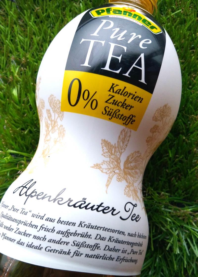 Pfanner Pure Tea Alpenkräuter DieCheckerin.de