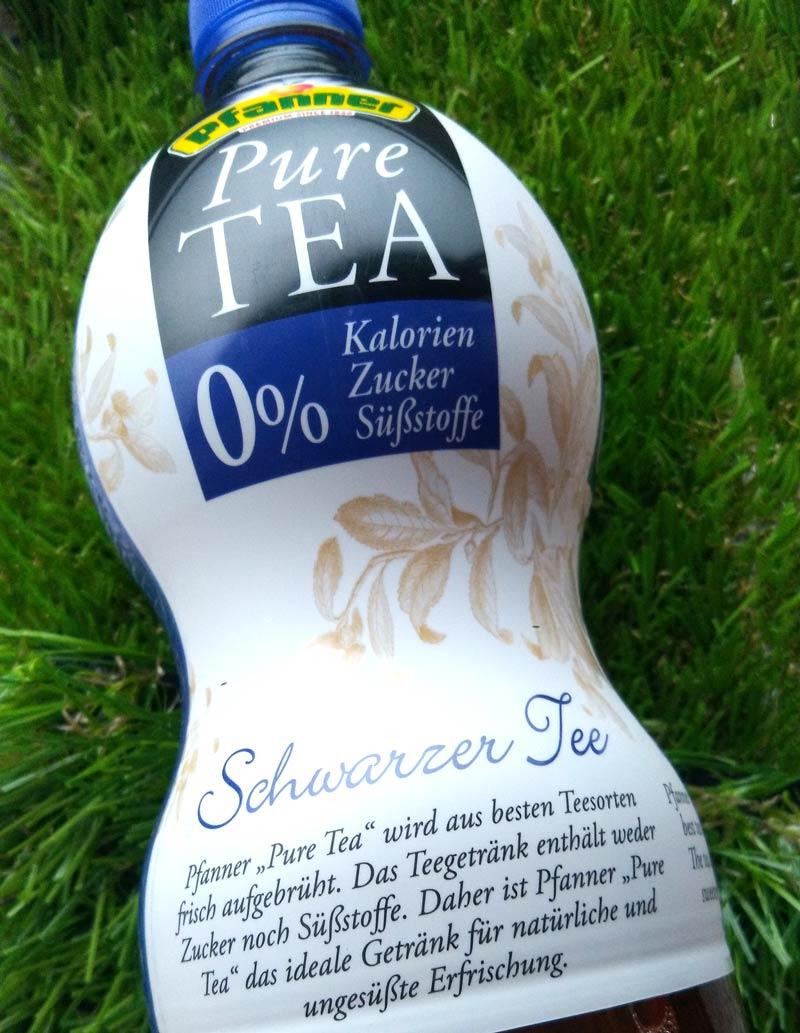 Pfanner Pure Tea Schwarzer Tee DieCheckerin.de