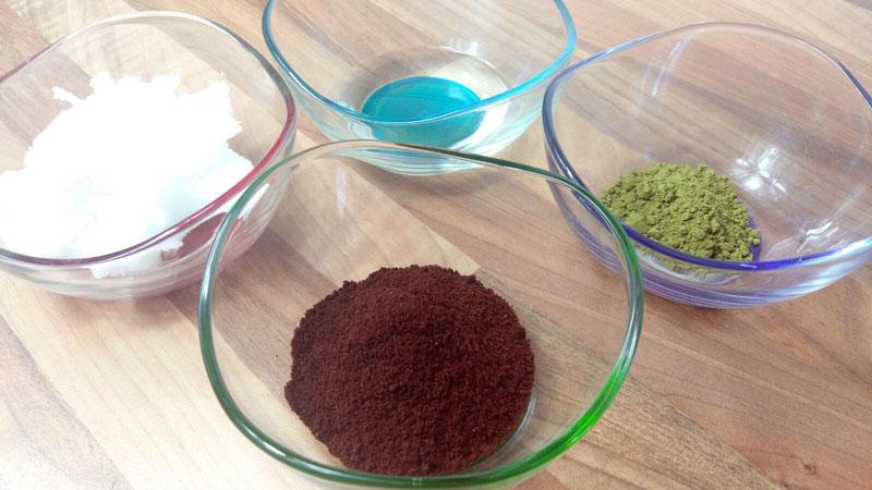 Kaffee Salbe Matcha Creme gegen Augenringe selber machen DieCheckerin