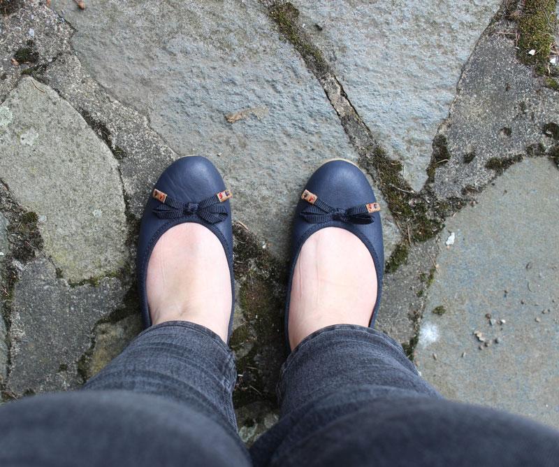 Pucetti Ballerina maritim marine blau Sommerschuhe 2017 Siemes Schuhcenter DieCheckerin.de
