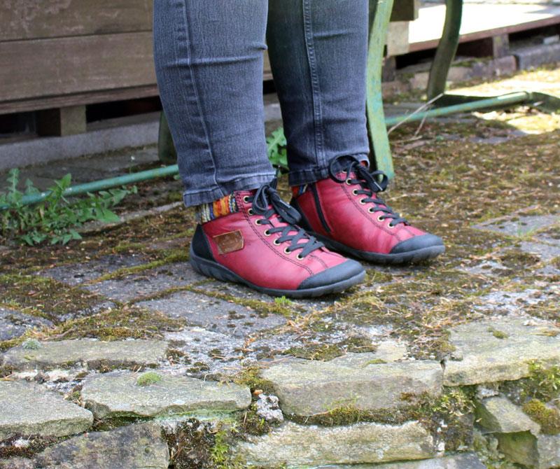 Rieker Ankle Boot Damen Schuhe Herbst Siemes Schuhcenter DieCheckerin.de