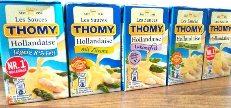 Was passt zu Spargel THOMY Sauce Hollandaise