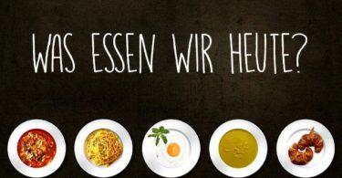 Was essen wir heute Essensplan DieCheckerin
