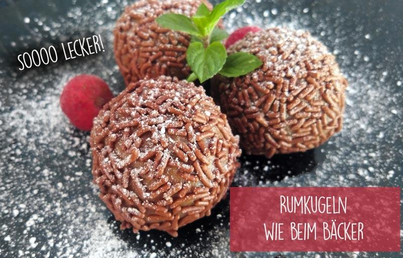 Rumkugeln wie vom Bäcker DieCheckerin.de