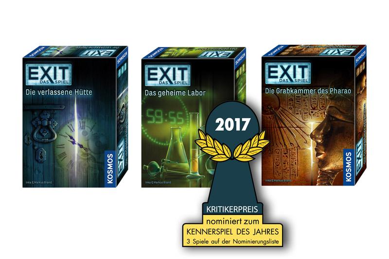 Spieleabend mit Freunden Exit Game Escape Room
