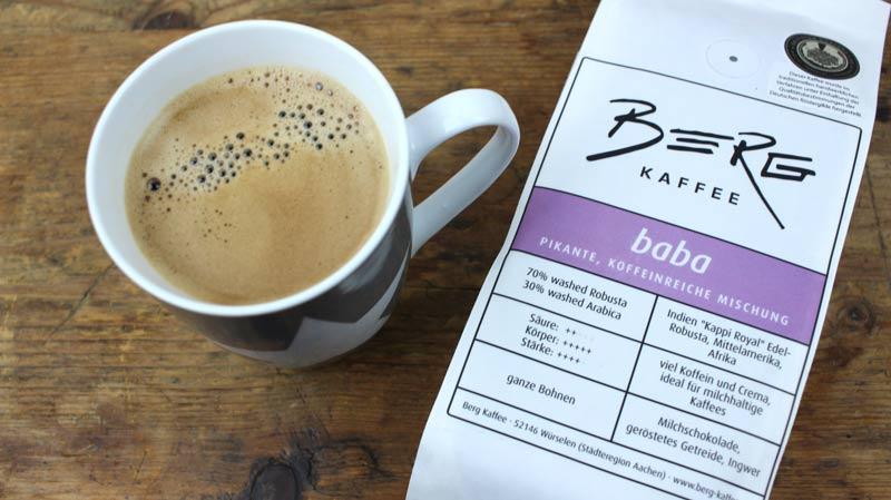 Baba Berg Kaffee