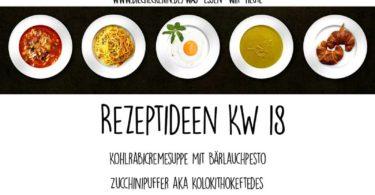 Was essen wir heute Essensplan für KW 18 in 2019 DieCheckerin.de vegane Kochinspiration
