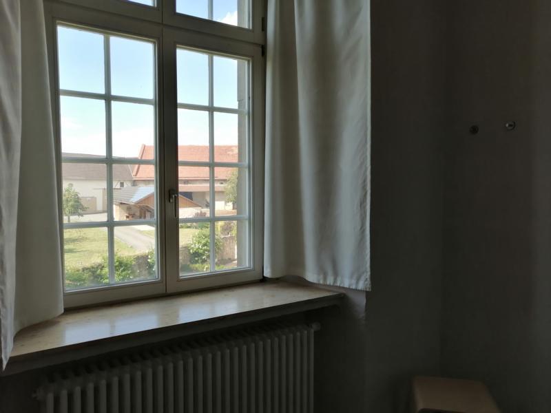 Hotel Schloss Gehrden Zimmer Ausblick