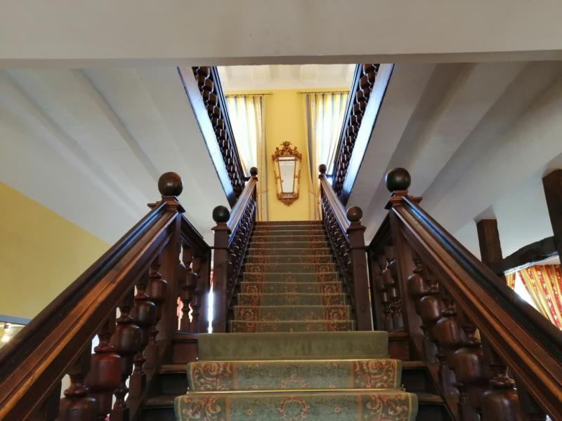 Hotel Schloss Gehrden Treppen