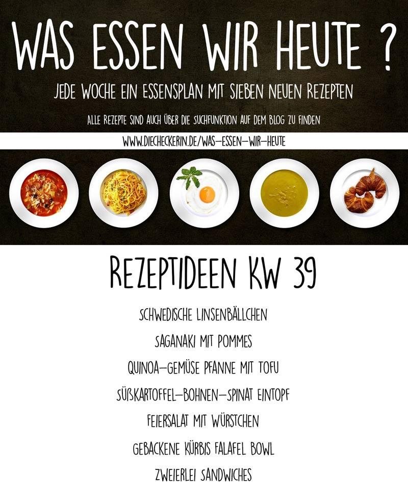 Essensplan Wochenplan eine Woche Was essen wir heute veganer Essensplan DieCheckerin