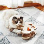 Katzen Fummel-<br>brett